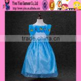 2015 beautiful baby girl Princess cosplay dress original selling cheaper party kids cinderella dress cosplay costume