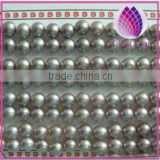 AAA Grade Mauve Freshwater Pearls 6-6.5 mm Half-drilled Button Loose Beads