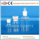 General sectio quartz glass glasswares chemical pharmaceutical buying from manufacturer Sealing glass bottle with high quality