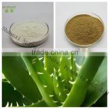 Spray dried and freeze dried aloe vera gel powder