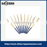 10pcs titanium finished diamond needle file