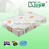Compressed rolled up high-resistant 7 zone cold foam mattress with removable knitting cover DS-E12