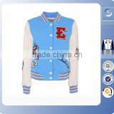 2016 american baseball jackets/baseball jacket blue/custom team baseball jackets