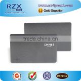 Fashion matte surface VIP card metal card with black plating