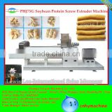 Jinan highly textured soybean protein machine;soybean meal making machine;soybean protein food machine