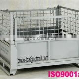 folding steel mesh box/pallet container