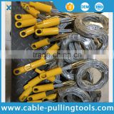 Different Size of Galvanized Steel Cable Pulling Grips Cable Socks With Swivel Connector Head