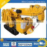 3tons mini Spider crawler crane with CE certificate with Japan Key Parts