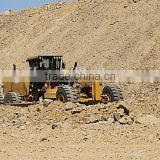 hot sale top quality best price hydraulic motor grader use ZF gear and Cumins engine with CE certification