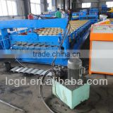 prepainted trapezoidal metal roofing sheet making roll forming machine