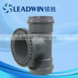 PVC Accessory Flange Adaptor Pipe fittings with Rubber joint