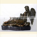 Garden large bronze play girl statue for sale