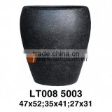 East Asia Manufacturer Well Design Oval Elegant Decorative Poly Terrazzo Planter