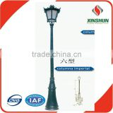 outdoor lamp pole,decorative lamp poles,Ductile casting lamp poles