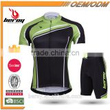 custom fine workmanship short sleeve cycling apparel suits for man,BEROY brand mountain bike jerseys with low MOQ