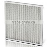 G2 G3 G4 Efficiency Low pressure drop Washable panel pre-filter