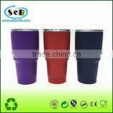 30oz High Quality Stainless Steel Tumbler with Wholesale Price Powder Coating
