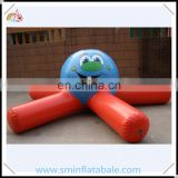 Commercial 0.9mm pvc inflatable water toy, floating water buoy, water park funny swim buoy from china supplier