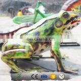 KAWAH Animatronic Artificial frog sculpture for park
