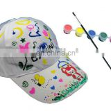 DIY canvas cap/painting cap/drawing cap