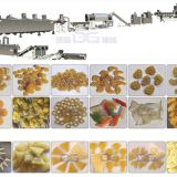 Onion ring 3D snack pellet puffed food production line