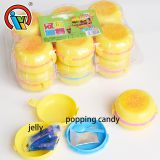 Hamburger Jelly Plus Popping Candy Toys