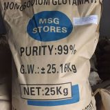 99% min Purity 8-100mesh MSG Monosodium Glutamate