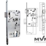 Lock body-MZ755B European Door Knob Pad Lock And Accessories Double Ball Locking Padlock Best Quality For Sale