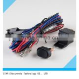 Best sale electronic auto car fog light relay wire harness with relay fuse switch