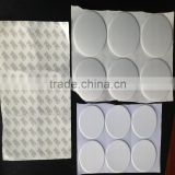 pe foam cap seal gasket/Single back rubber foam sealing gasket/White PE foam cap sealing gasket