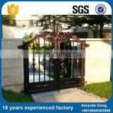 OEM Available Metal Wrought Iron Main Gate Village Designs