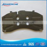 High Shear Strength High Conformity truck bus casting brake pad back plate
