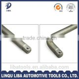 Carbon Steel L Type Wrench Handle, L Socket Wrench accessory handle/bar/rod