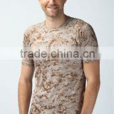 SHORT SLEEVE CAMOUFLAGE MICRO-FIBER T-SHIRT