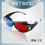 Good price and high quality 3d plastic frame glasses pictures porn 3d glasses red cyan glasses for sale