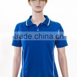 trade assurance make your own designed pique polo shirt for women