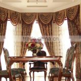 wholesale curtain Luxury european style blackout curtain fabric wholesale window curtain,office curtain