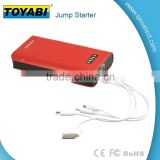 Mini 7500mAh Portable Car Jump Starter Power Bank Real 7500mAh Battery Charger For Laptop Mobile Phone