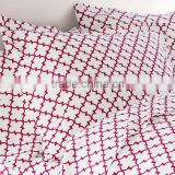 Machine washable waterproof bed sheet as home textile by Chinese manufacturer