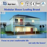 Light steel structure prefab house,professional engineer designed house with fashion looks