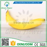 Greenflower 2016 Wholesale artificial fruit banana China handmake forma fruit for school resturant decoration