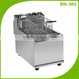 Stainless steel countertop electric deep fryer commercial use BN-903 with CE certification