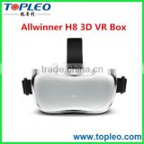 Virtual Reality HMD Octa-Core Display 3D VR Glasses Headset For Game&Video                                                                         Quality Choice