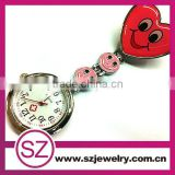 Newest promotional free battery doctor new style nurse watch
