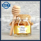8cm/10cm Mini Wooden Honey Dippers Portable Mini Jam Honey Dipper Stirring Rod Wooden Muddler Honey Stick