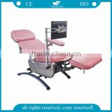 China manufacture AG-XD104 CE approved electric hospital blood collection chair