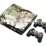 Factory Best-Selling for ps3 slim skin For PS3 Slim Console Vinyl Skin and 2 PCS Controller