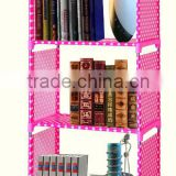 Hot sale cheap Bedroom furnitures space saving bookshelf bed