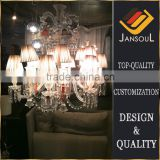12 lights Cheap made in China baccarat style crystal chandelier lighting                                                                                                         Supplier's Choice