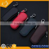 Universal Wholesale Auto Real Genuine Leather Key chain car key wallet bag for all keys models